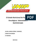 O Estado Nutricional de Pacientes