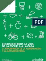 Propuesta - La importancia de la alimentación y la educación física - Conicet