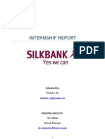 Silkbank Internship Report