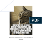 Paper on Lolcats