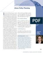 Population in Defense Policy Planning