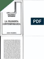 La filosofía contemporánea