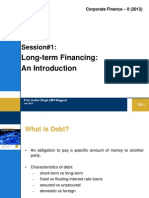 #1 Long Term Financing
