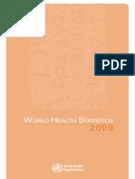 World Health Statistics 2009
