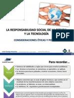 Responsabilidad Social Dfe La Ciencia y La Tecnologia (ITM Institucion Universitaria)