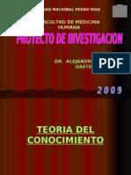 Teoria Del Conocimiento 2009 (15!01!2009)