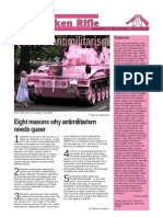 The Broken Rifle, August 2012 - Queer and Antimilitarism