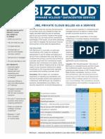 BizCloud DataSheet