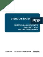 Material Para El Docente. Ciencias Naturales. Segundo Ciclo