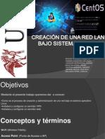 CREACIÓN DE UNA RED LAN BAJO SISTEMA OPERTIVO
