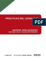 Material Para Docentes. Prácticas del lenguaje. Segundo Ciclo
