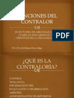 FUNCIONES DEL CONTRALOR