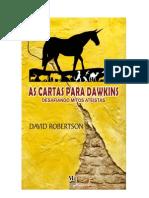 As Cartas Para Dawkins - David Robertson