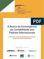 Livro - A Busca da Convergência da Contabilidade aos Padrões Internacionais