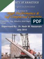 Self Compacted Concrete Seminar 1