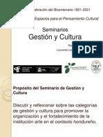 Seminario Gestión y Cultura