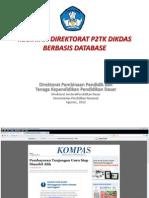 Kegiatan Direktorat p2tk Dikdas Berbasis Data (Sosialisasi Dapodik)