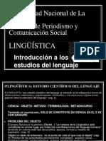INTRODUCCIÓN A LOS ESTUDIOS DEL LENGUAJE (1)
