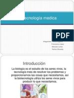 Biotecnología medica jjjjj