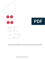 Multiplying and Dividing Integers Activity