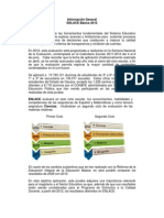 Informacion General ENLACE Basica 2012