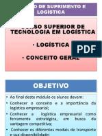 Apresentação  - CONCEITO DE LOGÍSTICA