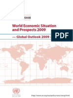 UN 2009 Global Financial Outlook