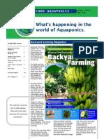 June 2010 Backyard Aquaponics Newsletter