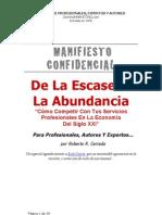 Mc Profesionalesdelaescasezalaabundancia2012