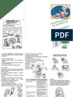 Folder- o Papel Do Manipulador