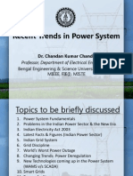 Presentation on Latest Trends in Power System by Chandan Kumar Chanda