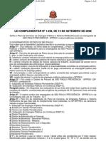 Lei Complementar n.1.058, De 16.09.2008