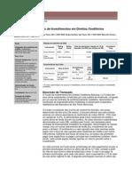 Monitoramento Fundo de Investimentos em Direitos Creditórios bancoop 1 set 2005