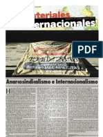 anarcosindicalismo e internacionalismo