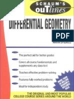 Schaum Differential Geometry