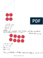 Multiplying and Dividing Activity