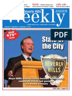 State of the City--Beverly Hills Weekly, Issue #675