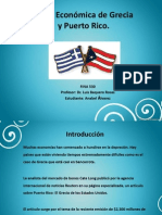 Crisis Económica de Grecia y Puerto Rico