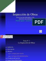 Tema 2 La Inspección de Obras