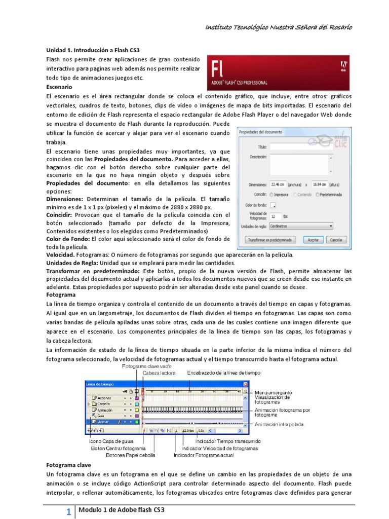 Introducción a Flash CS3