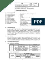 Silabo de Microbiologia 2012-II