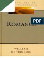 Comentario Al Nuevo Testamento - Romanos - William Hendrikse