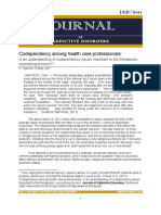 Codependency among health care professionals