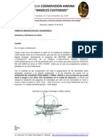 CARTA N° 006-2012
