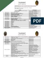 """PROGRAMA DE LA III CONVENCIÓN NACIONAL DE LA FAMILIA COSMOVISION ANDINA """"ANGELES CUSTODIOS"""""""