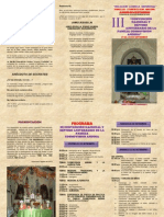 """III""""CONVENCIÓN NACIONAL Y SEPTIMO ANIVERSARIO DE LA FAMILIA COSMOVISION ANDINA"""""""
