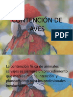 Contencion de Aves Power