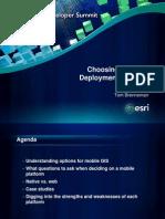 Choosing a Mobile Deployment Platform