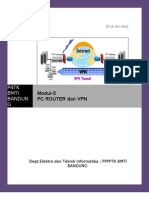 Modul-5 Router & VPN
