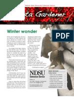 January 2011 Dakota Gardener